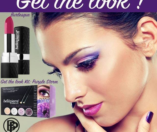 Purple storm. Get the look!