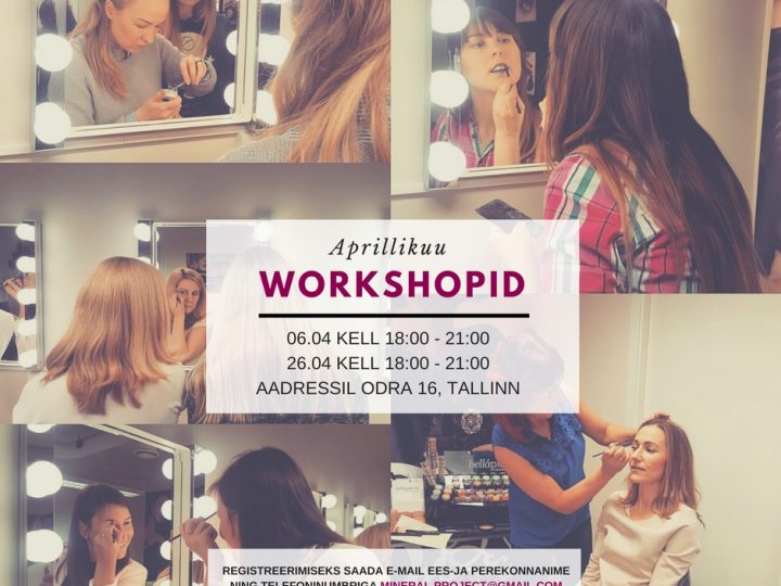 Aprillikuu Workshopid