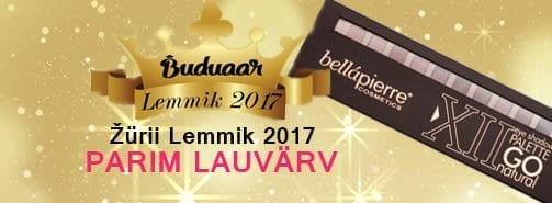 "Любимый продукт Buduaar 2017- Bellapierre ""XII Eyeshadow Palette Go Natural"""